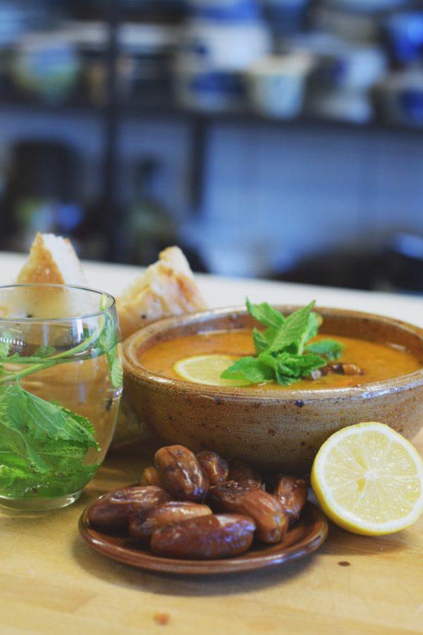 Kleinste Soepfabriek iftar recept Bio soep harira marokkaans arabisch bio vegan