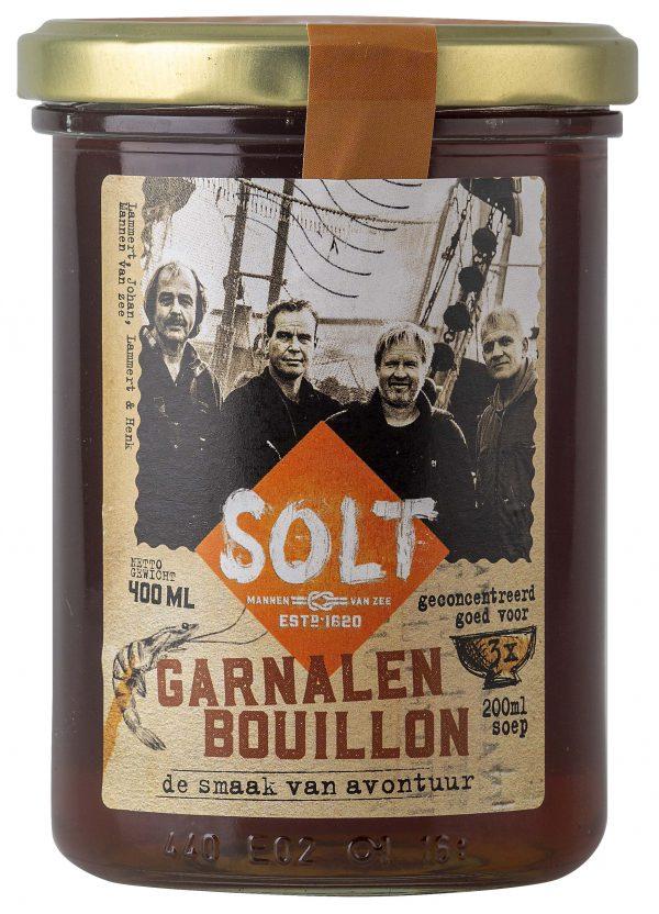 Garnalenbouillon Garnalen Bouillon Visbouillon Solt Soepfabriek Kleinstesoepfabriek