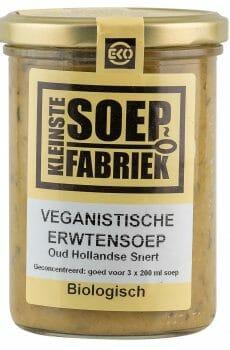 Kleinstesoepfabriek Soepfabriek Biologisch Veganistisch Vegan Vegetarisch Bio Soep Hollands Nederlands Erwtensoep Snert