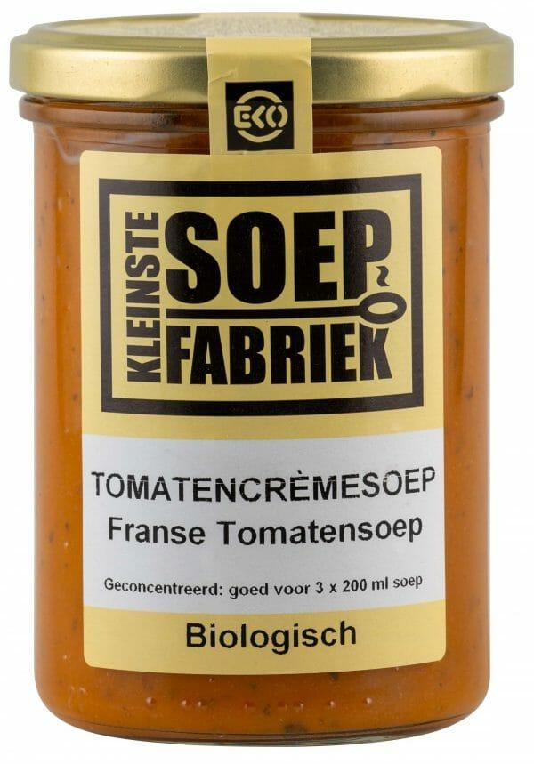 Kleinstesoepfabriek Soepfabriek Soep Soepen Soup Suppe Biologisch Bio Vegetarisch tomatensoep tomatencreme cremesoep tomaten