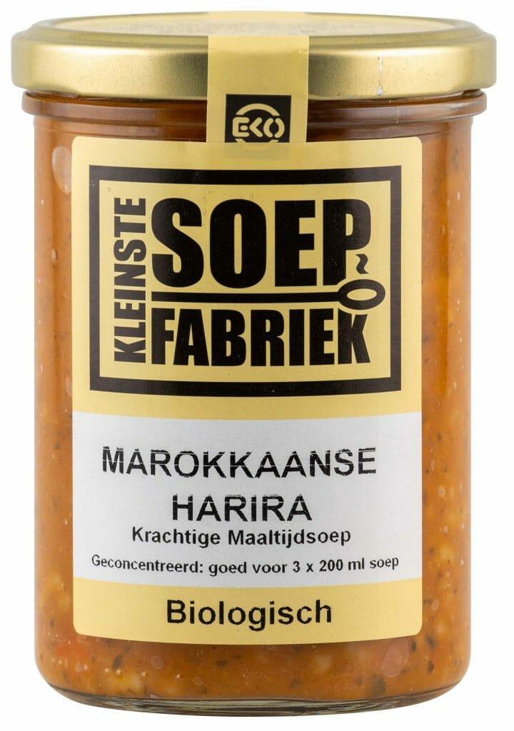 Kleinste Soepfabriek recept Bio soep harira marokkaans arabisch bio vegan