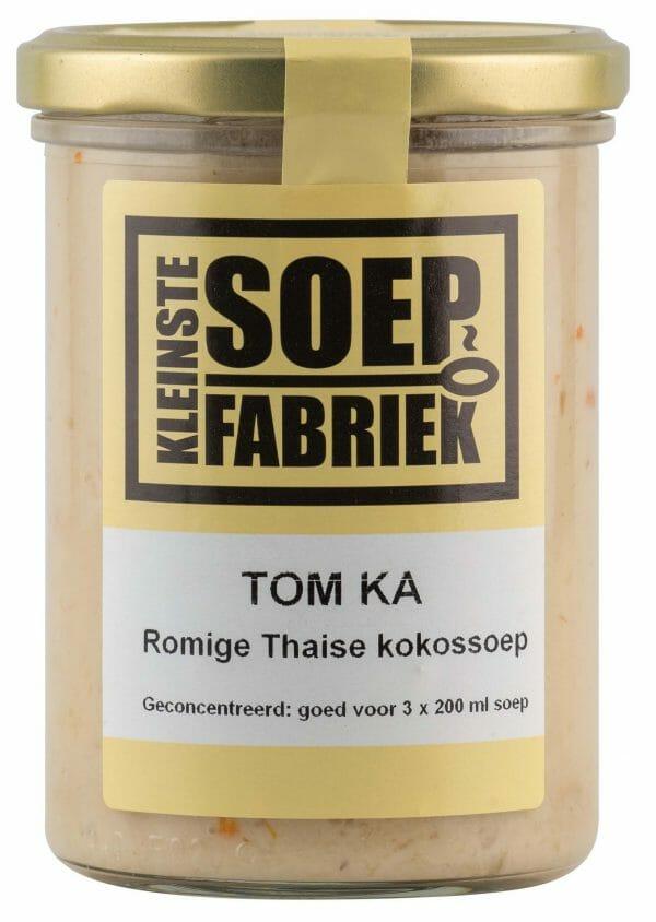 Kleinstesoepfabriek curry soep Soepfabriek Biologisch Veganistisch Vegan Vegetarisch Bio Soep Thaise Tom Ka Kokossoep